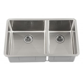 Elite Sink Square  Round Corner Kitchen Stainless