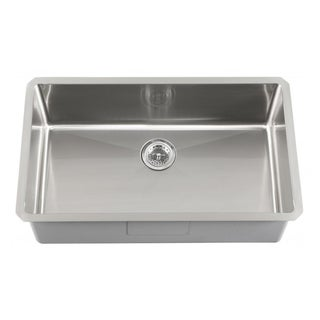 Schon Undermount 16-Gauge Stainless Steel Single Bowl Kitchen Sink