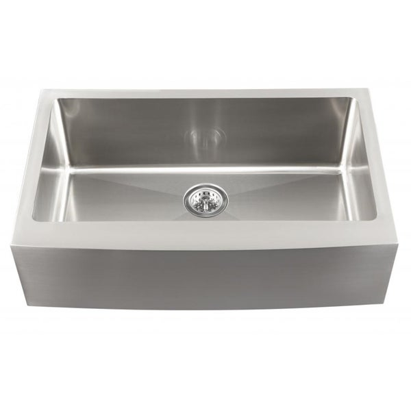 Undermount Apron Front Sink : ... Undermount 16-Gauge Stainless Steel Apron Front 60/40 Kitchen Sink