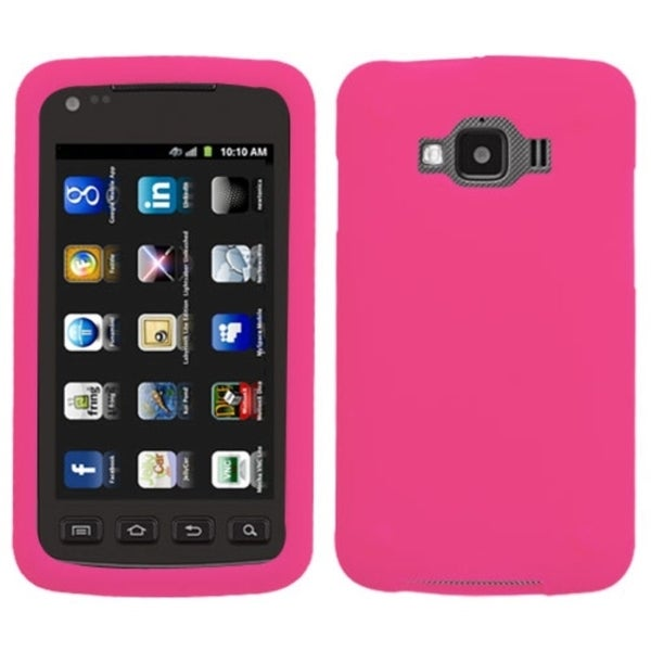 BasAcc Hot Pink Solid Skin Case for Samsung© I847 Rugby Smart BasAcc Cases & Holders