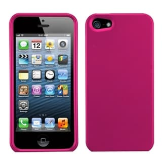 BasAcc Hot Pink Titanium Case for iPhone 5