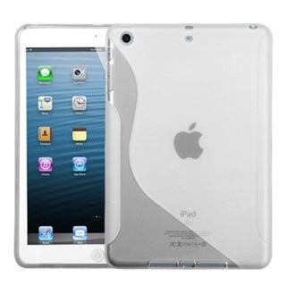 BasAcc Transparent Clear S-Shape Case for Apple iPad Mini