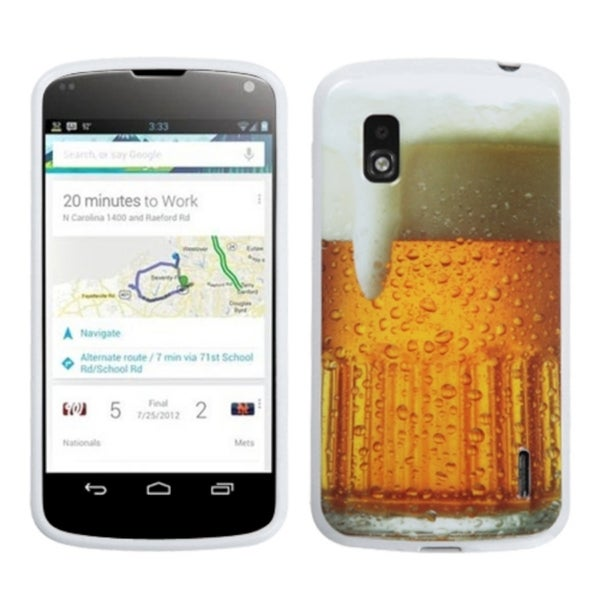 BasAcc Beer-Food Collection Case for LG E960 Nexus 4