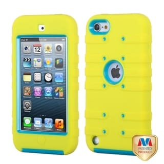 BasAcc Tropical Teal/ Yellow Case for Apple iPod Touch 5th Generation