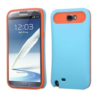 BasAcc Rubberized Wallet Case for Samsung Galaxy Note II/ Note 2