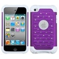 BasAcc Purple Diamante Case for Apple iPod Touch 4th Generation