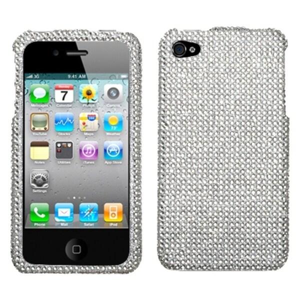 BasAcc Silver Diamante 2.0 Case for Apple iPhone 4/ 4S