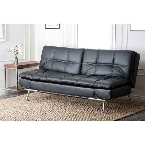 Euro lounger sofa bed abbyson living marquee euro for Couch 600 euro