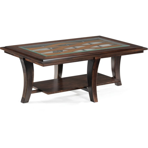 Tivoli Wood Rectangular Cocktail Table
