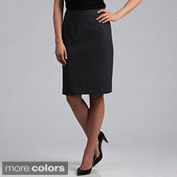 Calvin Klein Women's Solid Color Pencil Skirt
