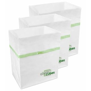Disposable Clean Cube Trash Cans/ Recycling Bins (Pack of 3)