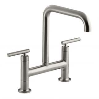 Kohler Purist Steel Deck-mount Faucet