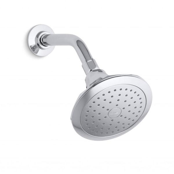 Kohler Memoirs Classic Single-function Polished Chrome Katalyst Shower Head