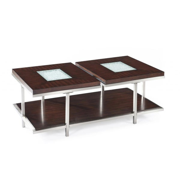 malevich cracked glass veneered cocktail table 15382957 shopping great deals