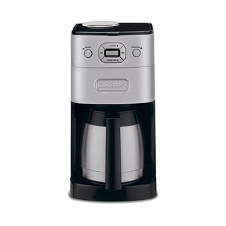 Cuisinart Brushed Metal DGB-650BC Grind-and-Brew Thermal 10-cup Automatic Coffeemaker