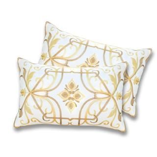 Lush Decor Georgina Lemon Decorative Pillows (Set of 2)