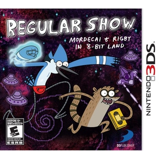 NinDS 3DS - Regular Show Mordecai And