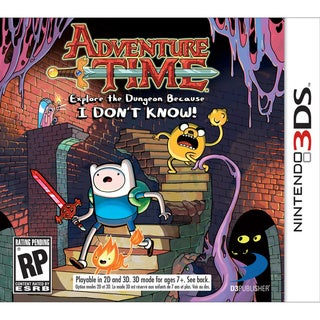 Nintendo 3DS - Adventure Time: Explore the Dungeon Because I DON'T KNOW!
