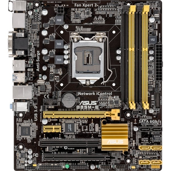 Asus B85M-E/CSM Desktop Motherboard - Intel B85 Express Chipset - Soc