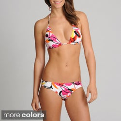 On Shore 2-piece Tropical Bikini Swimsuit