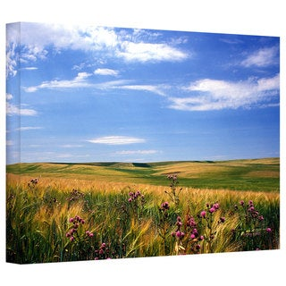 Kathy Yates 'Field of Dreams' Gallery-Wrapped Canvas