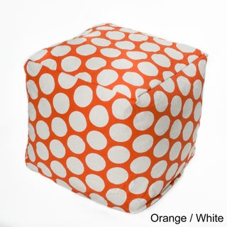 Polka-dot 17-inch Bean Bag Cube