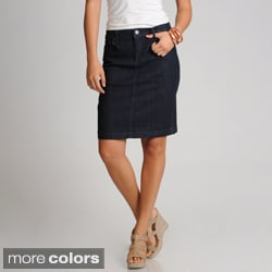 Gloria Vanderbilt Women's 5-pocket Jean Skirt
