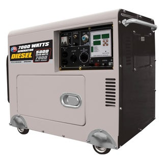 7000 Max Watt 10 HP Digital Display Diesel Generator