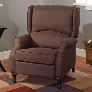 Logan Brown Wing Recliner