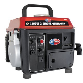 1200 Max Watt 2-stroke Single Cylinder Generator