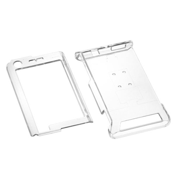 INSTEN Phone Case Cover for Motorola A555 Devour - T-Clear