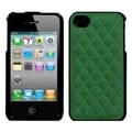 BasAcc Quilted Forest Green Executive Case for Apple iPhone 4/ 4S