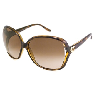 Gucci Women's GG3500 Rectangular Sunglasses