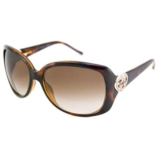 Gucci Women's GG3548 Rectangular Sunglasses