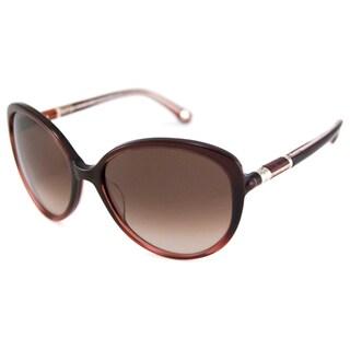 Michael Kors Women's MKS241 Campbell Plastic Cat-Eye Sunglasses