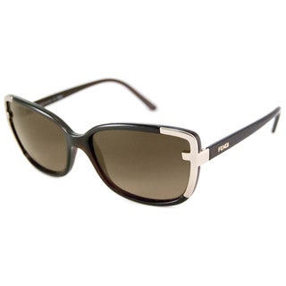 Fendi Women's FS5224 Rectangular Sunglasses