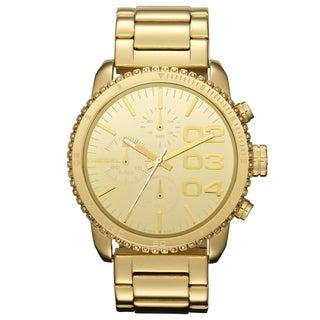 Diesel Women's Chronograph Goldtone Watch