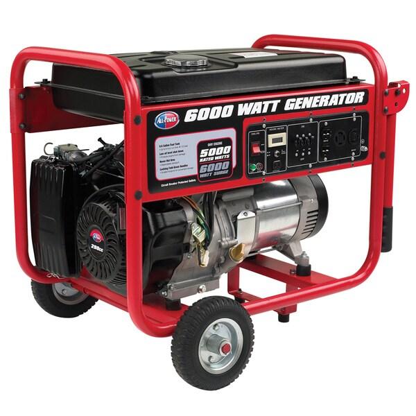 6000-watt 291cc Generator