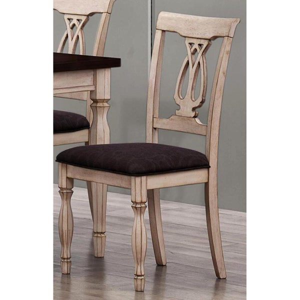 Begonia Two-tone Dining Chairs (Set of 2)