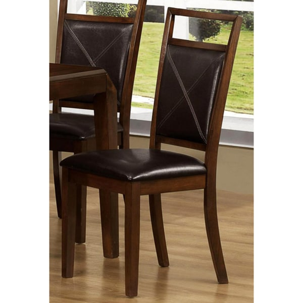 Nettle Brown Window Dining Chairs (Set of 2)