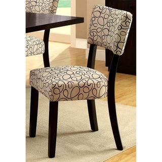 Aster Open Back Dining Chairs (Set of 2)