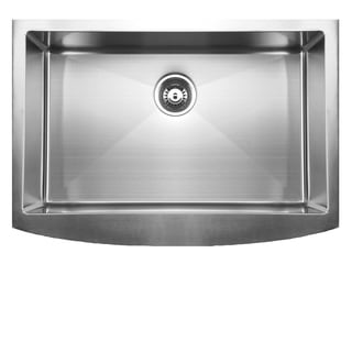 Ukinox Apron Front Satin Finish Undermount Kitchen Sink