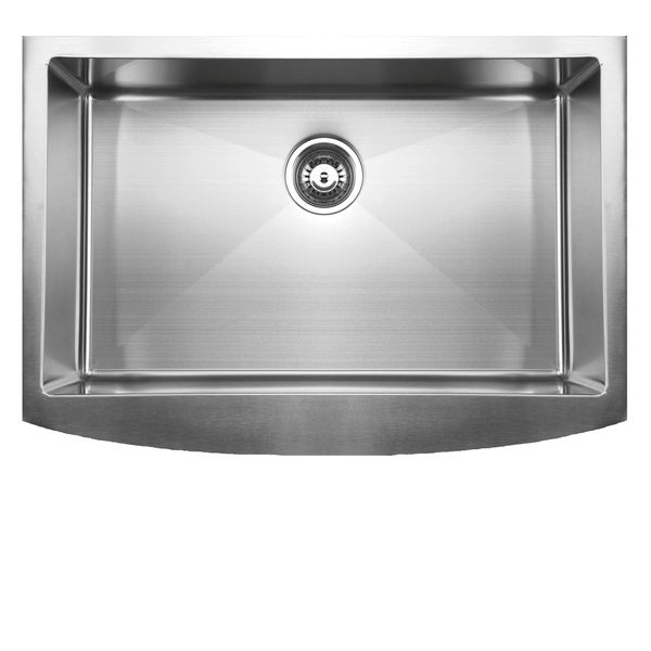 ... Apron Front Single Basin Stainless Steel Undermount Kitchen Sink