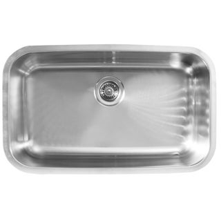 Ukinox D759 Single Basin Stainless Steel Undermount Kitchen Sink
