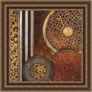 Patricia Pinto 'African Circles I' Framed Print