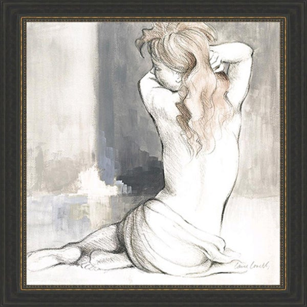 Lanie Loreth 'Sketched Waking Woman I' Framed Print