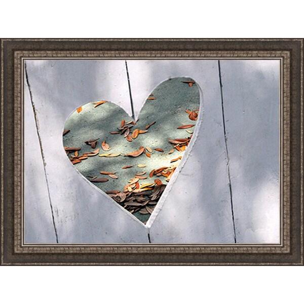 Gail Peck 'Heart Full of Love' Framed Print