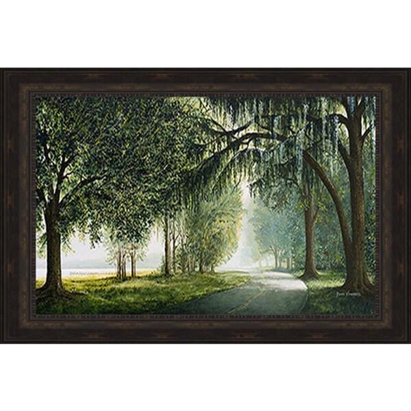 Bruce Nawrocke 'Lake Shore Drive' Framed Print
