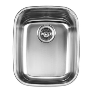Ukinox D376.8 Single Basin Stainless Steel Undermount Kitchen Sink