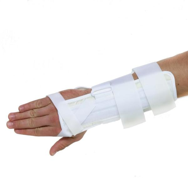 Encore Wrist and Forearm White Splint